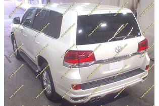 Обвес Modellista Toyota Land Cruiser 200 с 2016г.- Серебристый