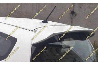 Спойлер Honda Fit 07-13г. Стиль RS, белый