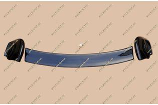 Спойлер стиль Mugen на Honda Insight 09-14г. Черный