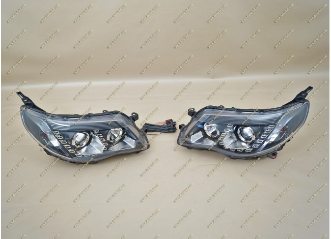 Фары на Subaru Forester линзовые 07-12г.