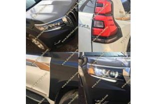 Рестайлинг комплект Toyota Land Cruiser Prado 150 в 2018г.