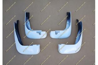 Качественные брызговики Honda Fit 10-13г. Белые