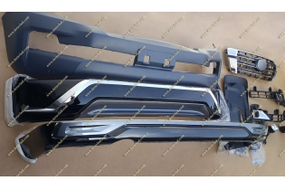 Рестайлинг перед Land Cruiser 200 (Ленд крузер) под 16год+обвес
