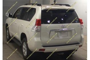 Рейлинги продольные Toyota Land Cruiser Prado 150 черные тип 2