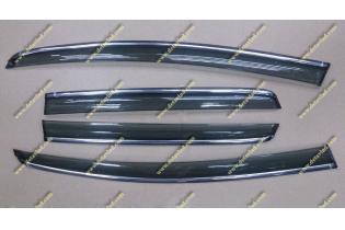 Ветровики Honda Fit с 2013г.-