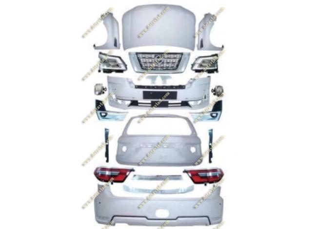 Рестайлинг комплект на Nissan Patrol 62 в 2021г.