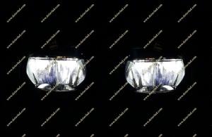 Диодные LED туманки Lexus LX570 07-15г.