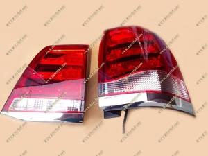 Диодные стопы Toyota Land Сruiser 200 стиль Lexus, рестайл 07-15г.