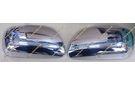 Хром накладки на уши зеркала на Toyota