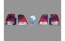 Рестайлинг перед+зад Toyota Land Cruiser 200 под 16год+обвес+стопы