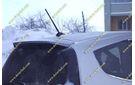 Спойлер (козырек) Honda Fit 07-13г. Серый