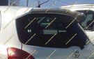 Спойлер Toyota Vitz  05-10г. Стиль TRD, белый