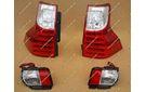 Стопы Toyota Land Cruiser Prado 150 низ + верх, стиль Lexus GX460