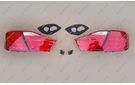 Стопы тюнинг диодные LED на Toyota Camry 50 11-14г.
