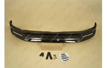 Губа передняя Excalibur на Toyota Land Cruiser 200 с 16г.- черная (перламутр)