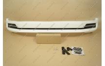Губа передняя Excalibur на Toyota Land Cruiser 200 с 16г.- белая (перламутр)