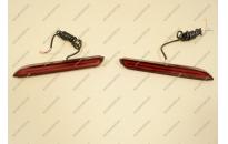 Неоновые катафоты в бампер для Toyota мод.2 красные