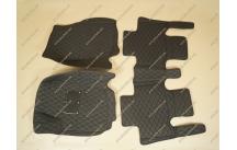 Модельные салонные коврики на Toyota Rav4 с 2013г.-