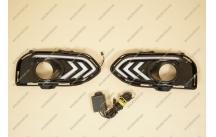Ходовые огни + поворотник на Honda Vezel мод.2 13-18г.
