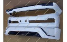 Рестайлинг перед Land Cruiser 200 под 16год+обвес белый перламутр