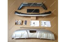 Накладки на передний и задний бампер Nissan X-Trail 32 с 13г.-