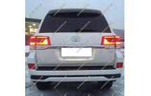 Обвес Executive Toyota Land Cruiser 200 с 2016г.- Белый перламутр