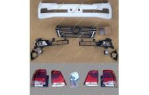 Рестайлинг комплект Toyota Land Cruiser 200 в 16год + стопы белый перламур
