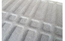 Стильные 3D коврики в салон. Бежевые