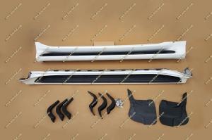 Подножки lexus GX460, комплект. Белые (перламутр)