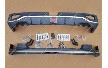 Обвес тип 2 на Nissan Patrol 62 с 2014г.-