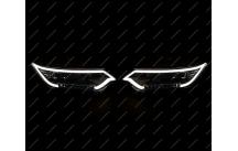Тюнинг фары Toyota Camry 50, 55 3 Линзы, ДХО, с 2014г.-