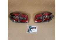 Стопы Nissan Patrol 62 рестайл стиль Nismo, дымчатые, тип 2
