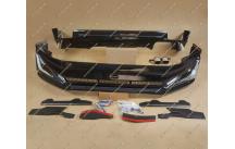 Обвес Modellista на Toyota Land Cruiser Prado 150 с 2018г.- черный перламутр