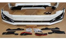 Обвес Modellista на Toyota Land Cruiser Prado 150 с 2018г.- белый перламутр