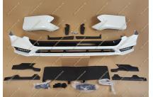Обвес на Toyota Land Cruiser Prado 150 TRD с диодами с 2018г.- белый перламутр