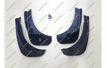 Брызговики Nissan Qashqai 06-13г. Черные
