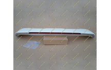 Спойлер на Toyota Land Cruiser 200 стоп+хром белый перламутр