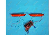 Неоновые катафоты в бампер для Nissan красные