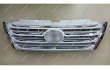 Решетка Toyota Land Cruiser Prado 150 13-17г. тюнинг, LX Mode, белая