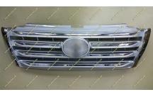Решетка Toyota Land Cruiser Prado 150 13-17г. тюнинг, LX Mode, серебристая