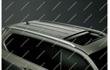 Рейлинги стиль Lexus на Toyota Land Cruiser 200, металл, все года