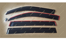 Ветровики Toyota Land Cruiser 200 с надписью все года