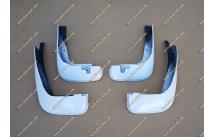 Брызговики Honda Fit 10-13г. Белые