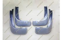 Качественные брызговики Honda Fit 10-13г. Серебристые