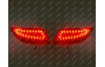 Диодные катафоты в бампер Toyota Camry 50, 55 15-17г.