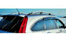 Рейлинги продольные Honda CR-V 06-12г. Серебристые