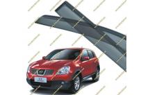 Ветровики Nissan Qashqai 06-13г.