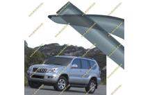 Ветровики Toyota Land Cruiser Prado 120  02-09г.