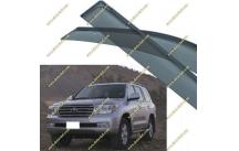 Ветровики Toyota Land Cruiser 200 с 2007г.-
