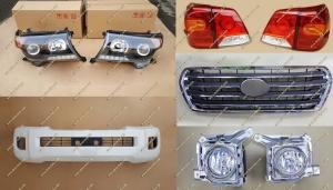 Рестайлинг комплект Toyota Land Cruiser 200 Brownstone белый перламутр, тип 2, полный